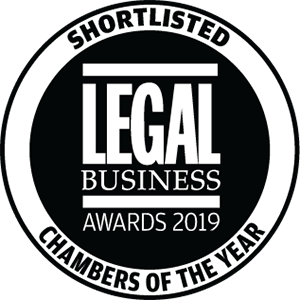 Shortlisted for Legal Business Awards 2019: Chambers of the Year